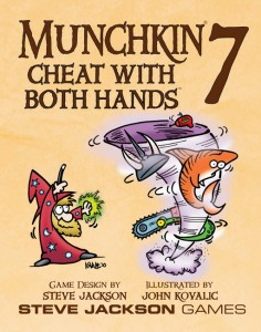Munchkin cheat with both hands